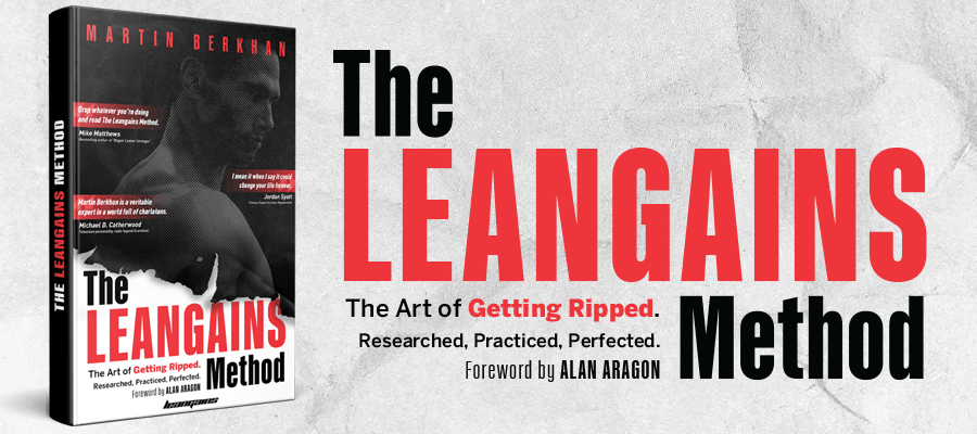 Bokrecension - The Leangains Method: The Art of Getting Ripped. Researched, Practiced, Perfected