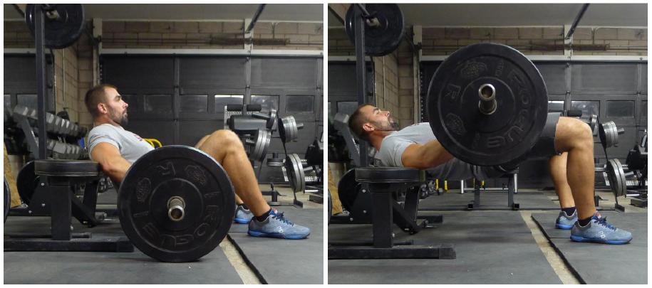 Hip thrust – Övningsutförande för att träna rumpan